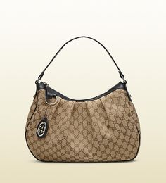 Gucci Sukey Beige Hobo Bag with Leather Brown Trim! Gucci Outlet Online, Gucci Bags Outlet, Gucci Handbags Sale, Chanel Online, Handbags Uk, Popular Handbags, Cheap Handbags, Luxury Handbags, Gucci Hobo Bag