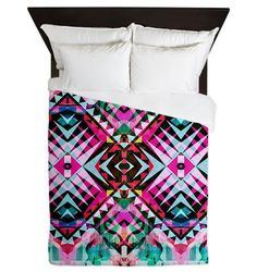 Queen Duvet Cover  Mix 546  Ornaart Design by Ornaart on Etsy, $199.00