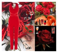 """Wild Roses🌹🌹"" by oksana-kolesnyk ❤ liked on Polyvore featuring Coast, Gucci, Diamondere, Chanel, Missha, Lancôme, Bling Jewelry and Dolce&Gabbana"