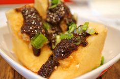 煎釀豆腐 - Pan Fried Stuffed Tofu