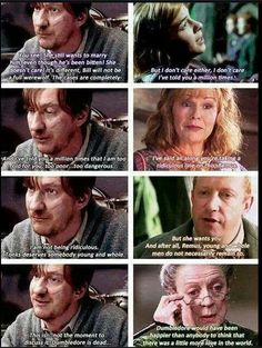 SO wish this scene was in the movies. I always loved Remus' and Tonks' relationship, the movies barely showed it. <-- YES Remus and Tonks are the best! Hogwarts, Slytherin, Harry Potter Quotes, Harry Potter Fandom, Harry Potter World, Harry Potter Deleted Scenes, Tonks Harry Potter, Harry Potter Facts, Star Treck