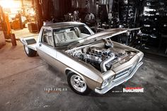 ◆ Visit MACHINE Shop Café... ◆ ~ Aussie Custom Cars & Bikes ~ (1972 HQ Holden One Tonner) Holden Muscle Cars, Aussie Muscle Cars, Custom Trucks, Custom Cars, Hq Holden, Ute Trays, Little Truck, Life Crisis, Hot Rides