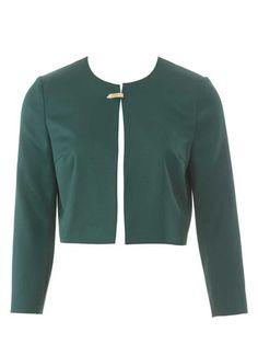 burda style, Schnittmuster - Gefütterte, kragenlose Jacke mit einem Klippverschluss und 7/8-Ärmeln. Nr. 109 aus 8/2015