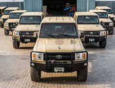 New Toyota land Cruiser 79 series ready for export . contact MSPV Armoured vehicles