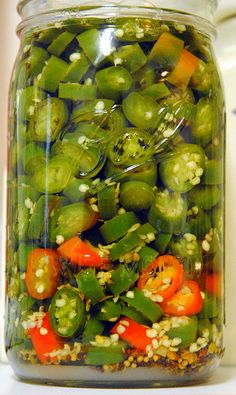 Pickled Serrano Peppers