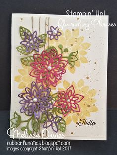 Good Morning, Stampers! We are celebrating Spring this week with the Create with Connie and Mary Saturday Blog Hop! First I mu...