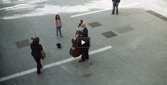 This Street Musician Was Tipped By A Girl. What Happened Next Blew The Whole City Away.