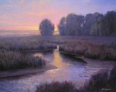 Broadway Gallery in Alexandria -  - landscape painting by Michael Godfrey