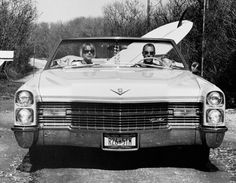 Michael Dweck, David and Pam in their Caddy, Trailer Park, Montauk, New York, 2003, Staley-Wise Gallery