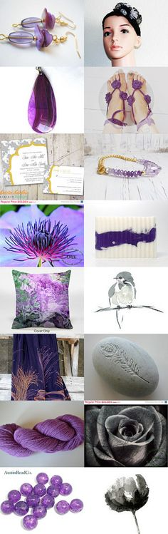 Purple mountain majesty.................... by Karen on Etsy--Pinned with TreasuryPin.com