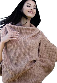 Modèle pull poncho Pingo Fashion Femme