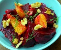 Roasted Beet & Orange Salad with Creamy Dill Vinaigrette Recipe Beet Recipes, Cooking Recipes, Food52 Recipes, Sandwiches, Freshly Squeezed Orange Juice, Orange Salad, Beet Salad, Roasted Beets, How To Squeeze Lemons