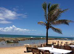 Praia de Arembepe-Bahia-Brasil