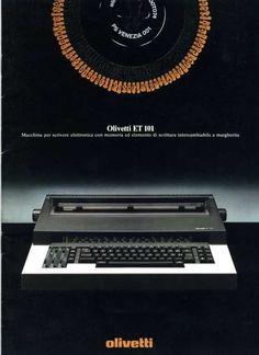 Olivetti ET 101 e le Macchine per Scrivere Elettroniche