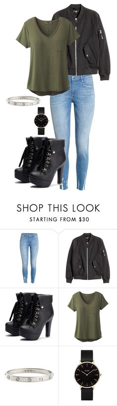 """Sem título #937"" by army-forever ❤ liked on Polyvore featuring H&M, prAna, Cartier and CLUSE"