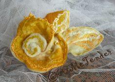 Wet felted brooch rose broochyellow white ocher by artmetender, $18.00