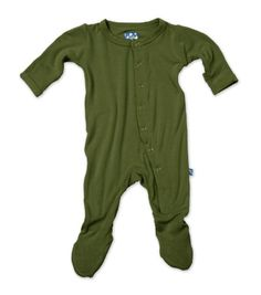 KicKee Pants Footie Moss Newborn >>> Want additional info? Click on the image.