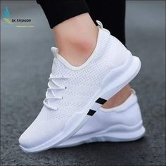 Northmarch spring and summer fashion mens casual shoes lace-up breathable shoes sneakers mens trainers zapatillas hombre Moda Sneakers, Sneakers Mode, Shoes Sneakers, Shoes Men, White Sneakers, Male Shoes, Gucci Sneakers, Sneakers Workout, Men Casual