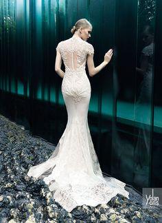 YOLAN CRIS Bridal Collection 2015 | Vintage Couture - Olivia