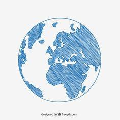world map globe sketch vector sketch lean pinterest map globe
