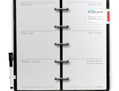 Decorative Magnetic Dry Erase Wall Calendar