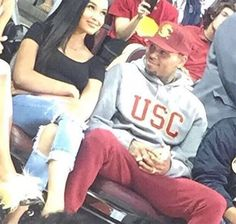 Chris Brown Gets Cozy With Cydney Christine At Volleyball Game — New Couple?
