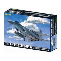 F-15C MSIP II, U.S. Air National Guard, Fighter Aircraft Plastic Model Kit, 1/48 Scale