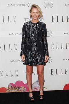 Lara Worthington at the Elle Australia Style Awards 2015 Bob Haircut For Round Face, Round Face Haircuts, Short Hair Cuts, Short Hair Styles, Blonde Blunt Bob, Lara Worthington, Hair Today, Hair Looks, Hair Inspo
