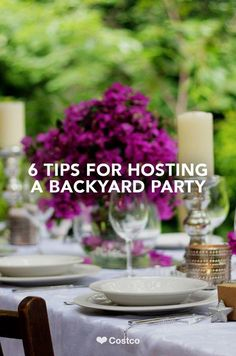 Take the party outside. Click for outdoor entertaining tips.