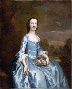 Experience Johnson Gouverneur (Mrs. Samuel Gouverneur) by John Wollaston 1749-1752