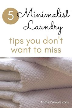 Learn how to simplify your laundry routine to make life easier. Minimalist Kids, Becoming Minimalist, Minimalist Lifestyle, Minimal Living, Simple Living, Laundry Hacks, Declutter Your Home, Feeling Overwhelmed, Life Organization