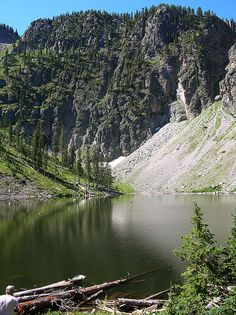 """Pecos Wilderness @ New Mexico, United States -- """"EveryTrail"""" information:"""