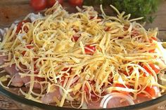 NapadyNavody.sk | Lenivý obed z kuracích pŕs s rýchlou 5 minútovou prípravou Poultry, Ham, Cabbage, Spaghetti, Food And Drink, Low Carb, Snacks, Meals, Chicken