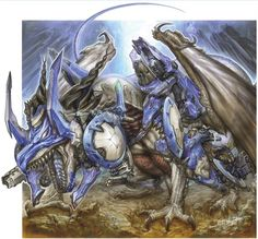 Mythical Creatures Art, Fantasy Creatures, Fantasy Beasts, Fantasy Art, Character Art, Character Design, Monster Design, Creature Concept, Dbz