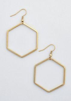 Geo Gal Earrings | Mod Retro Vintage Earrings | ModCloth.com