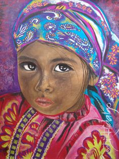 Beatriz Hidalgo De La Garza | Mexican Portrait painter | Soul of Mexico…