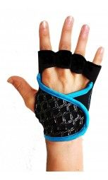 G-Loves Workout Gloves for Women | The Galaxy Turquoise Piping $45