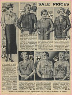 NewVintageLady: Lane Bryant 1936