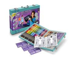 Crayola Virtual Design Pro Fashion Set Crayola Color Alive Crayola Pencils New #Crayola