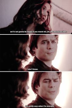 """#TVD 6x20 """"I'd Leave My Happy Home For You"""" - Elena and Damon"""