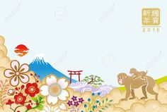 Japanese year of the monkey - Google Search