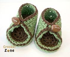 Peek-A-Boo Baby Crochet Sandal