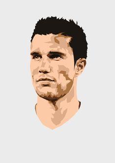 Arsenal Football, Football Players, World Cup Draw, Van Persie, Team Player, Sports Art, Manchester United, Pop Art, Soccer