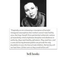 bell hooks #feminism #gender