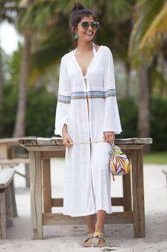 7e4ccf563b Inca Cover Up By Pitusa | White – Aspiga Latest Summer Fashion, Holiday  Fashion,