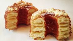 La nueva moda: Cronuts, mitad masa de dona, mitad masa de croissant...