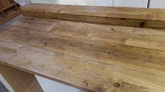 Solid Pine Reclaimed Scaffold Board Worktops