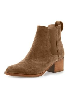 Walker+Suede+Chelsea+Boot,+Mineral++by+Rag+&+Bone+at+Neiman+Marcus.