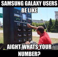 Samsung users...