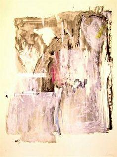Helen Frankenthaler, Sudden Snow, 1987. Lithograph. 80.3 x 59.7 cm. Ed. 50